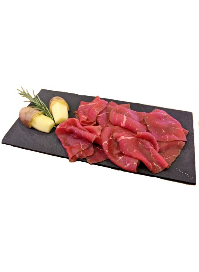 carne salada affettata